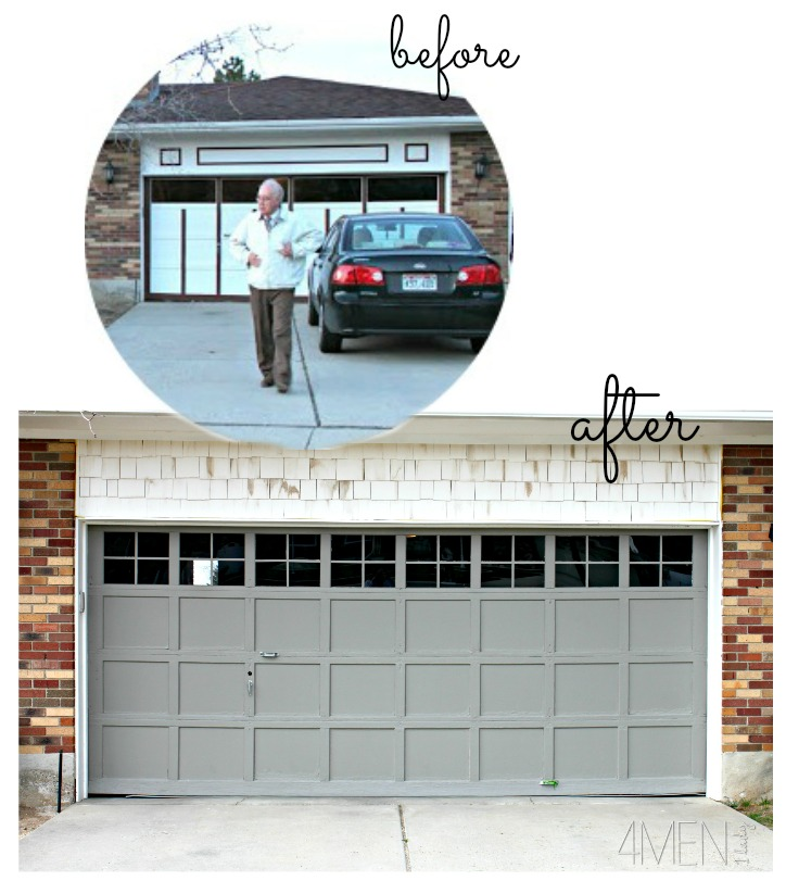 Adding Trim To Our Garage Door