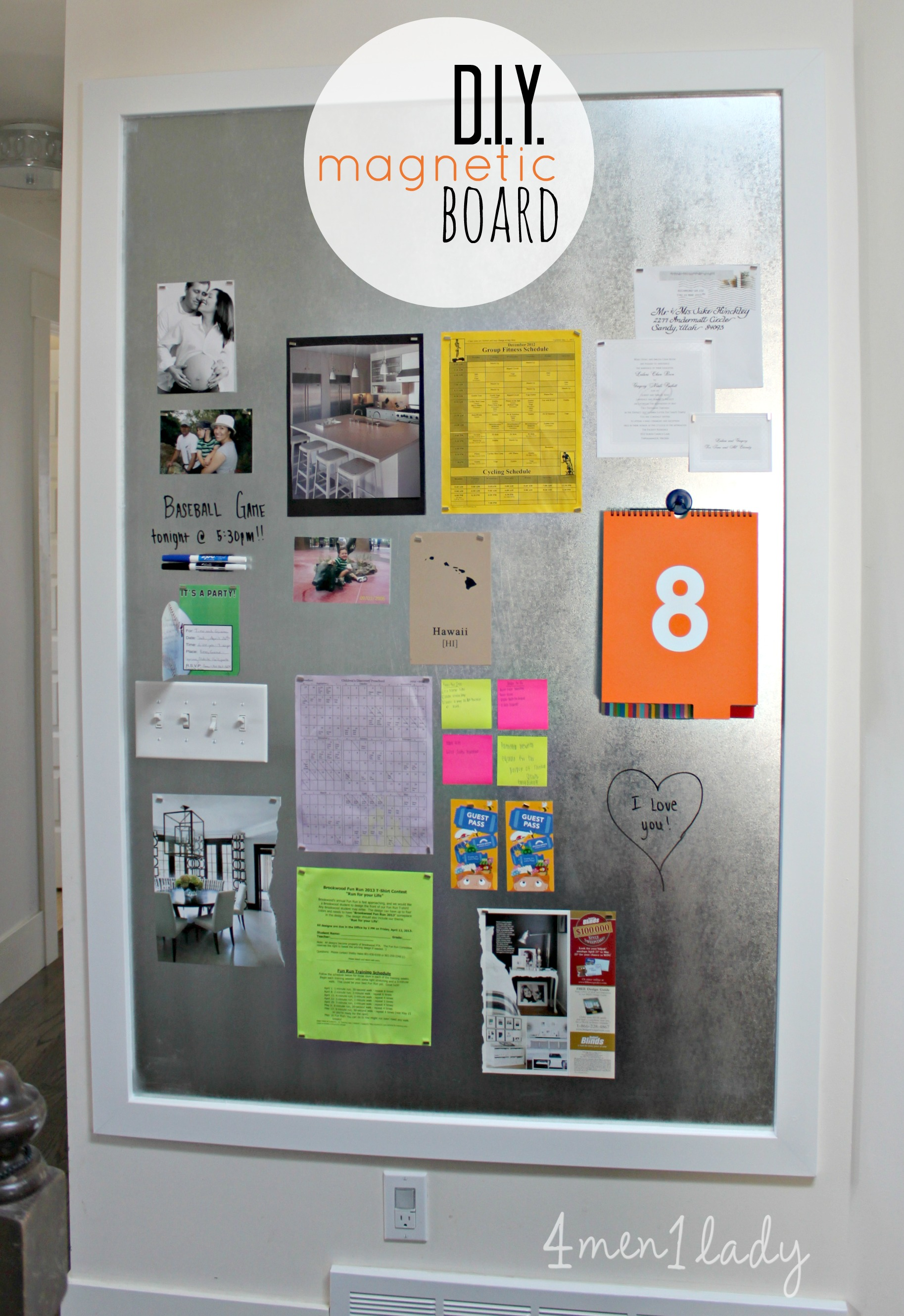 diy magnetic board - img