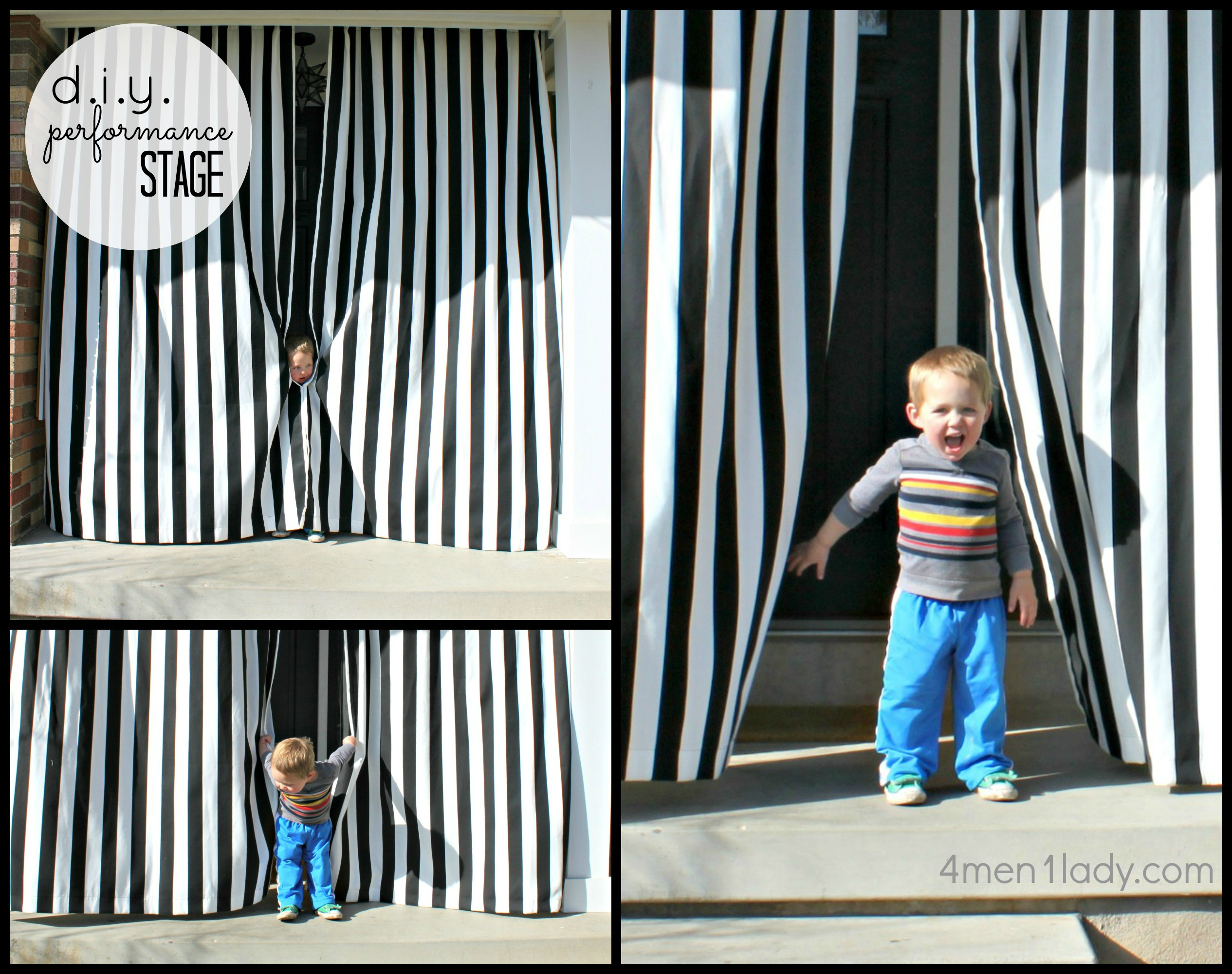 Diy outdoor curtains - Picmonkey Collage