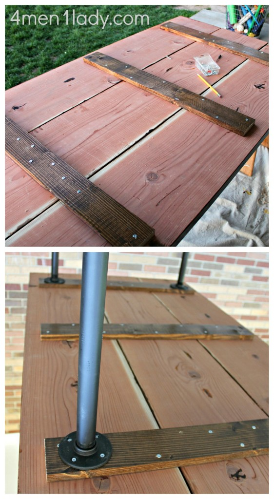 DIY Plumbing Pipe Table Tutorial : PicMonkey Collage11 562x1024 from www.4men1lady.com size 562 x 1024 jpeg 146kB