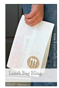 Lunch Bag Bling