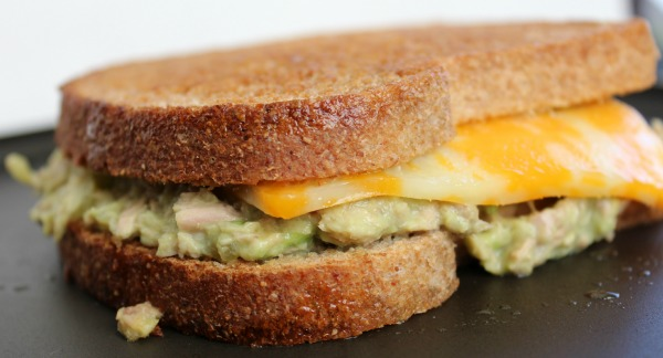 Avocado Tuna Grilled Cheese Sandwich 1
