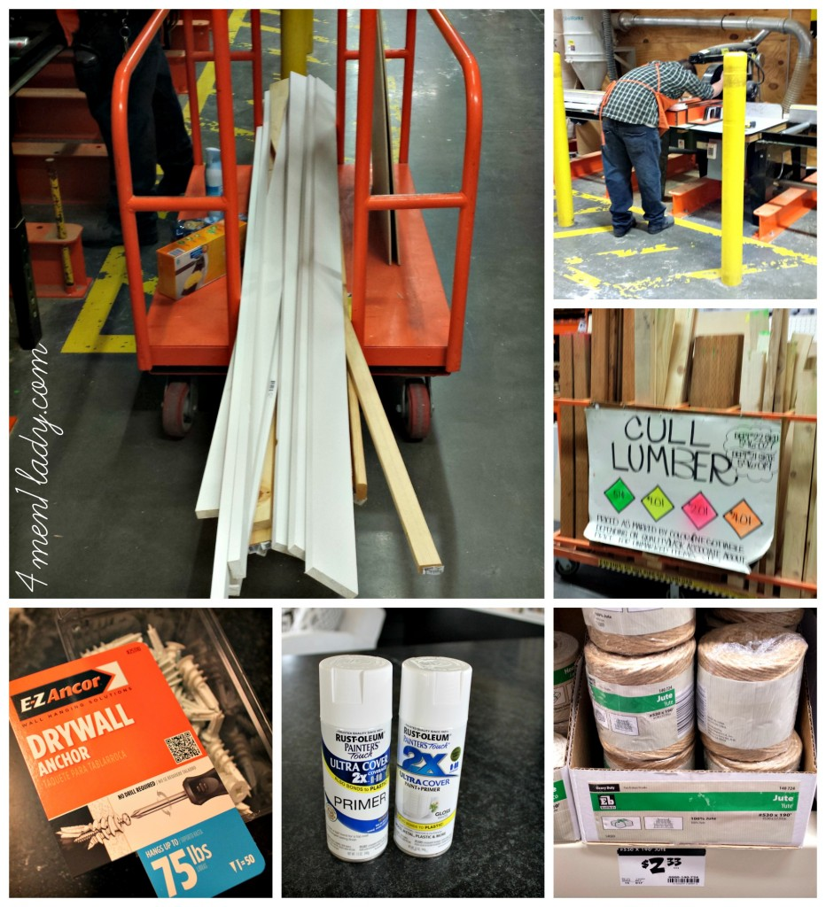 Home Depot Supplies