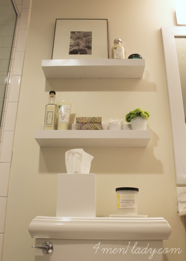 Bathroom renovation reveal for Bathroom decor and storage