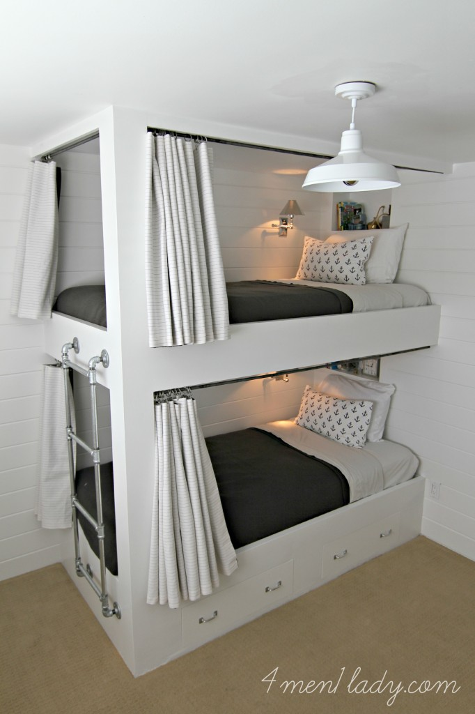 Bunk Beds And Bedroom Reveal