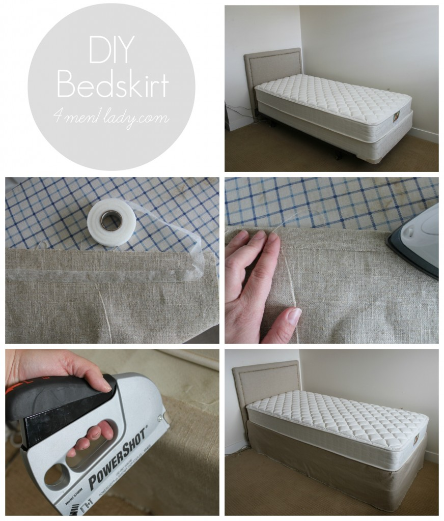 DIY Bedskirt 4men1lady