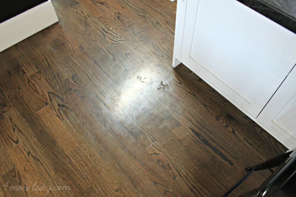Reviewing my own house  wood floors.