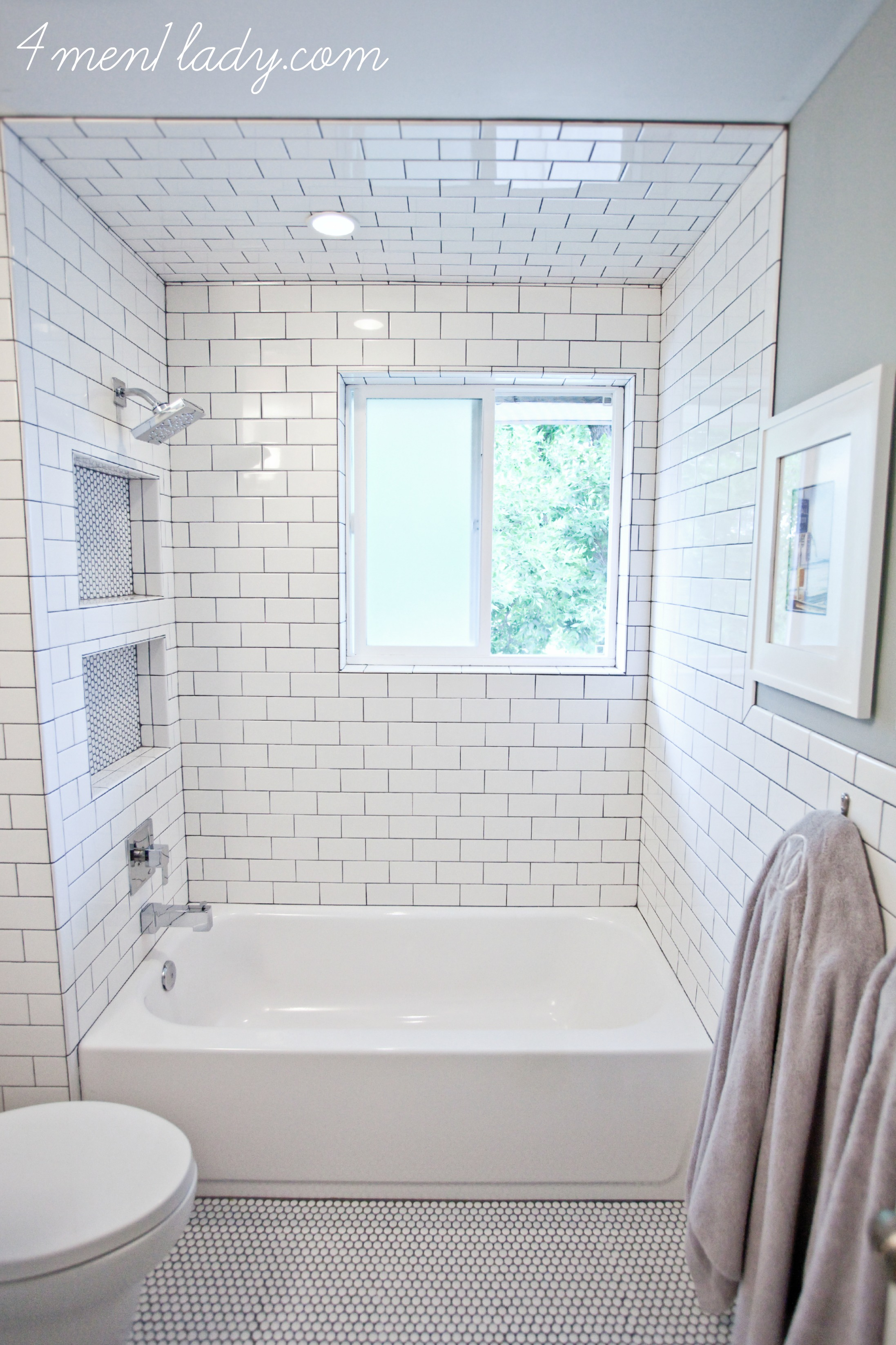 How To Install Tile Around A Bathroom Window - Round Designs
