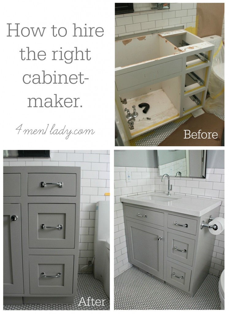 how to hire the right cabinet maker (4men1lady