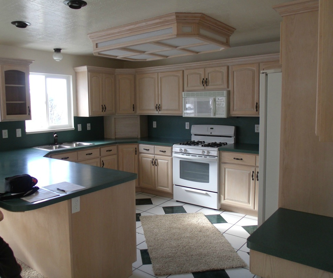 Overlay Kitchen Cabinet Doors: Kitchen Makeover. From Partial Overlay To Inset