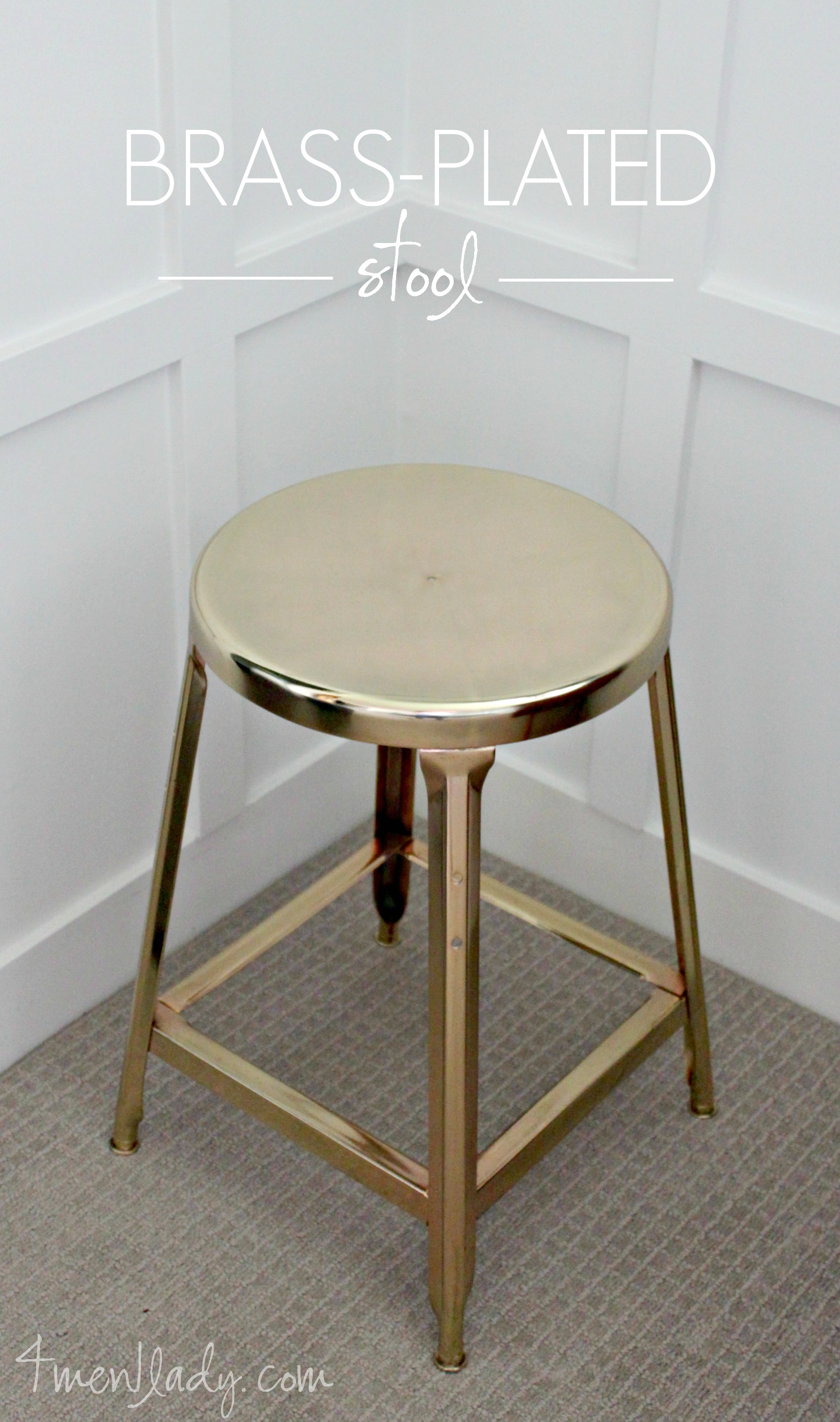 Diy Projects For Men Brass Plated Stool