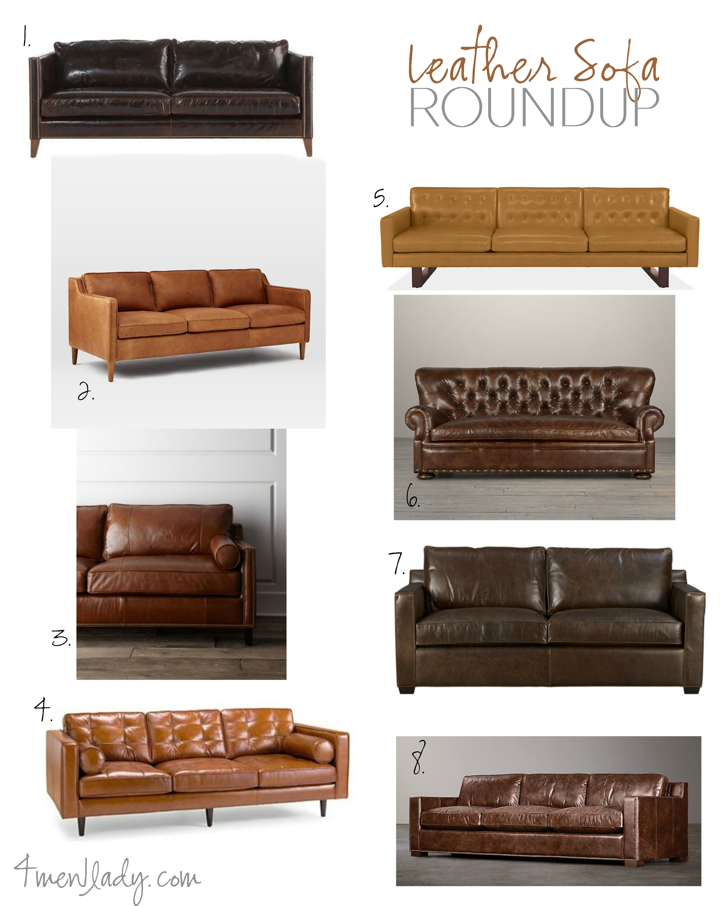 Sofa roundup 4men1lady