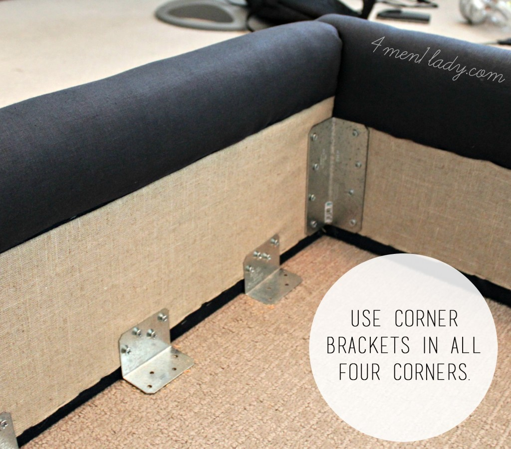 Diy Upholstered Queen Bed Frame