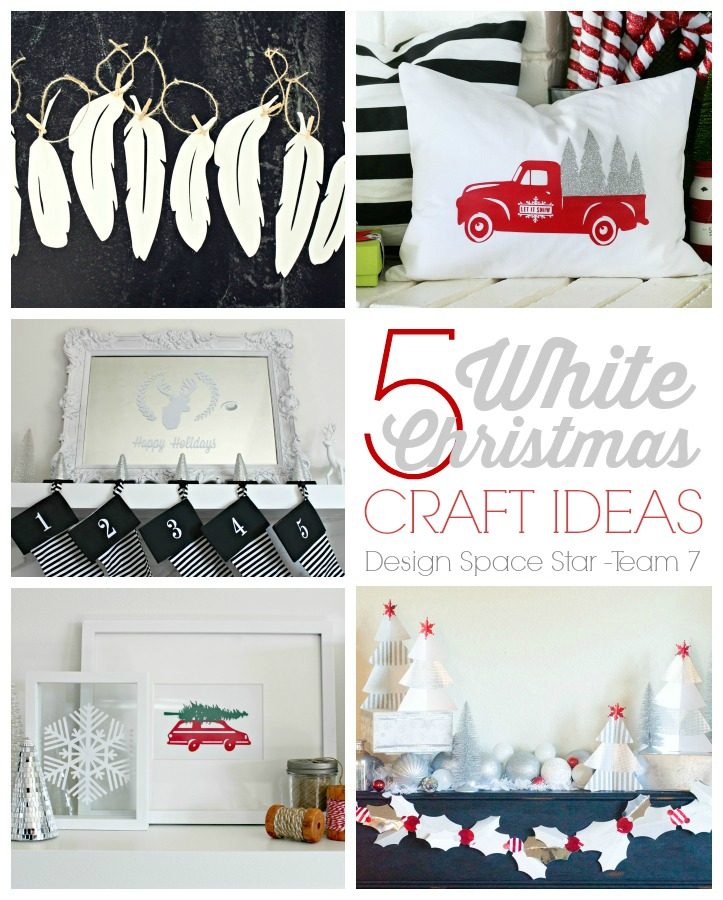 White Christmas Cricut Design Space