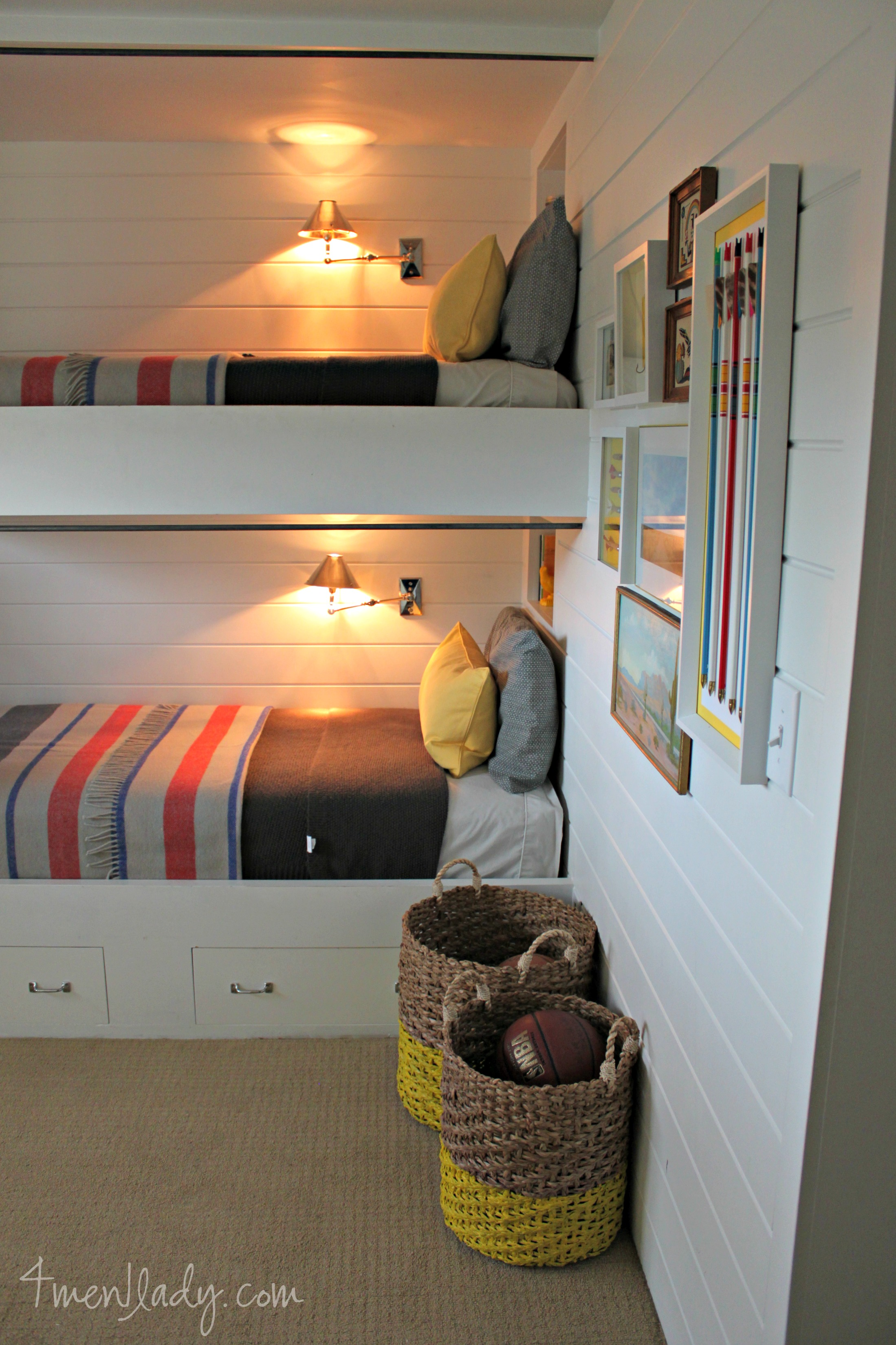 Bunk beds and bedroom reveal - Beds for small bedrooms ...