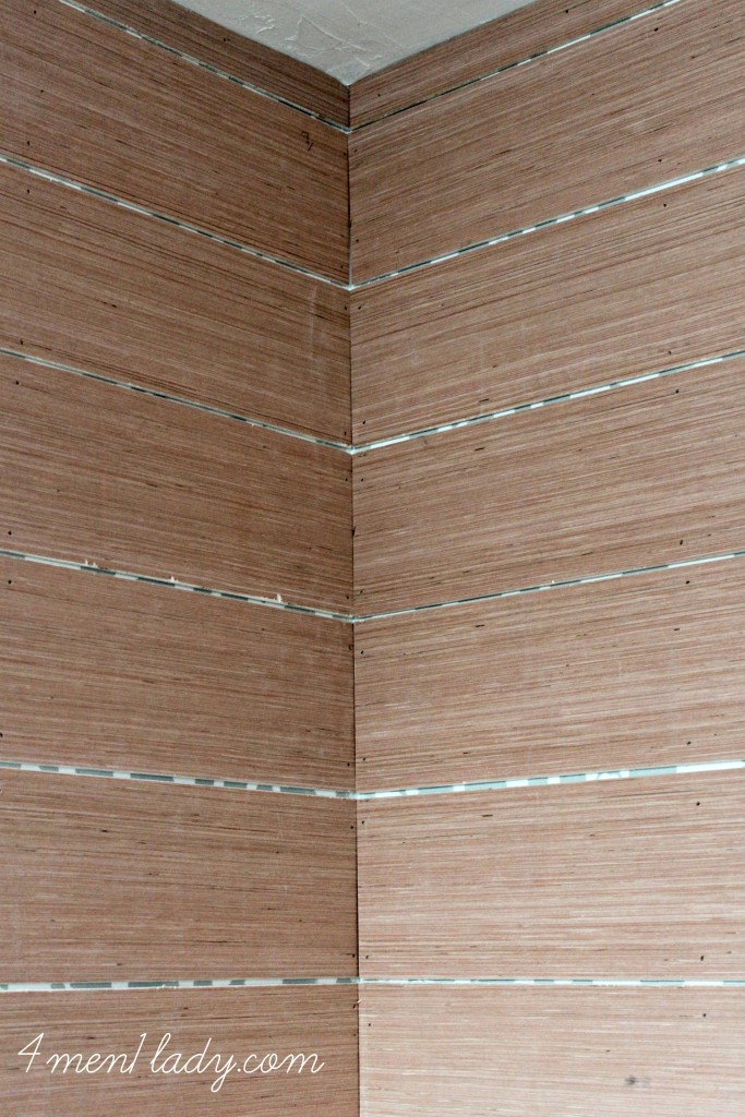 Plank wall reveal for Plywood wall sheathing