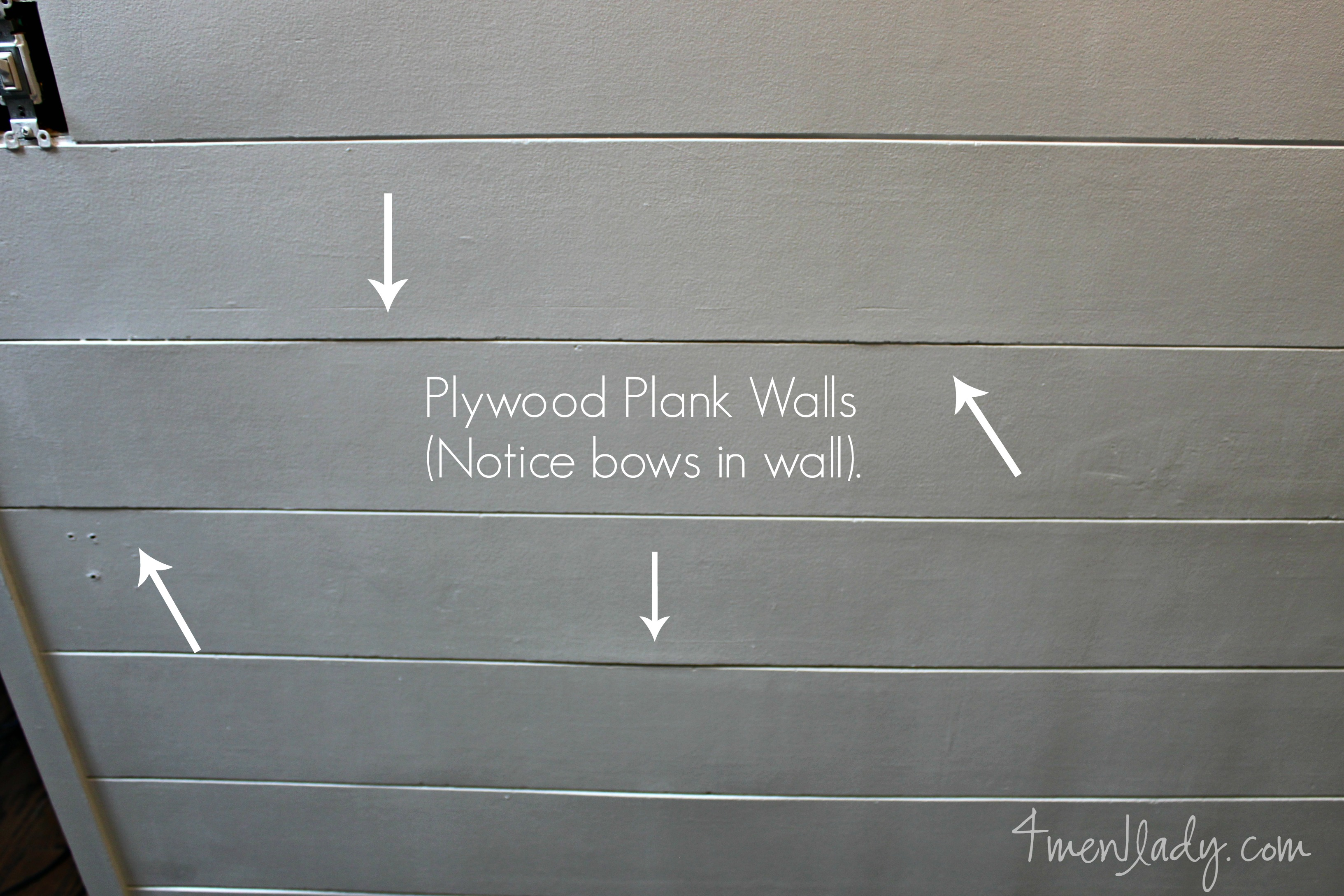 Plank Wall Reveal