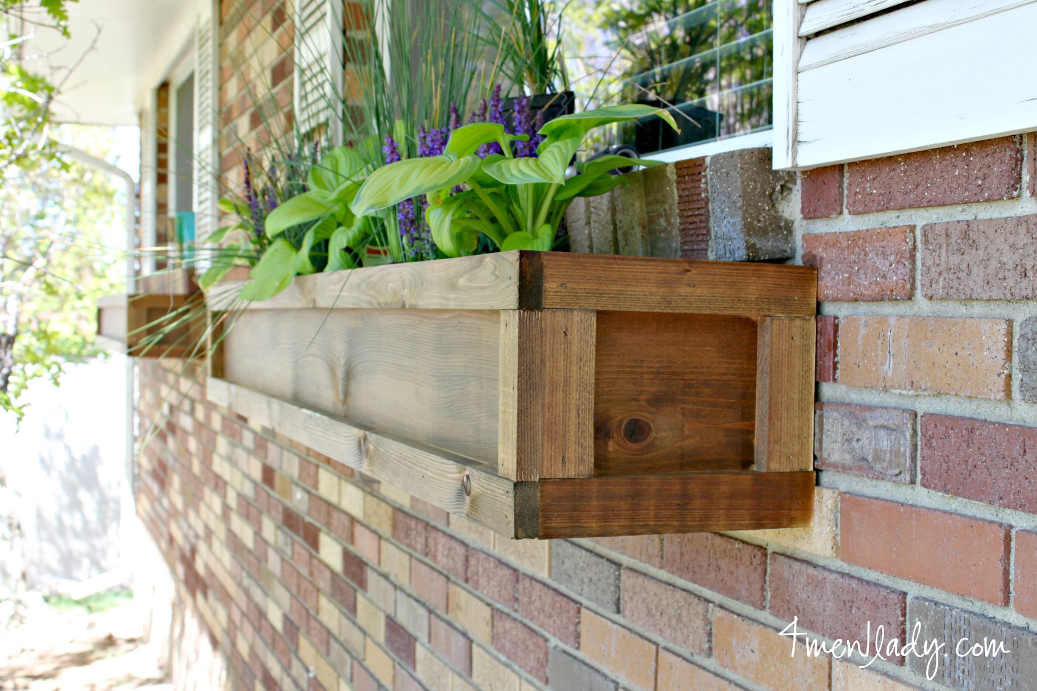 diy window boxes and a 100 ace giftcard giveway. Black Bedroom Furniture Sets. Home Design Ideas