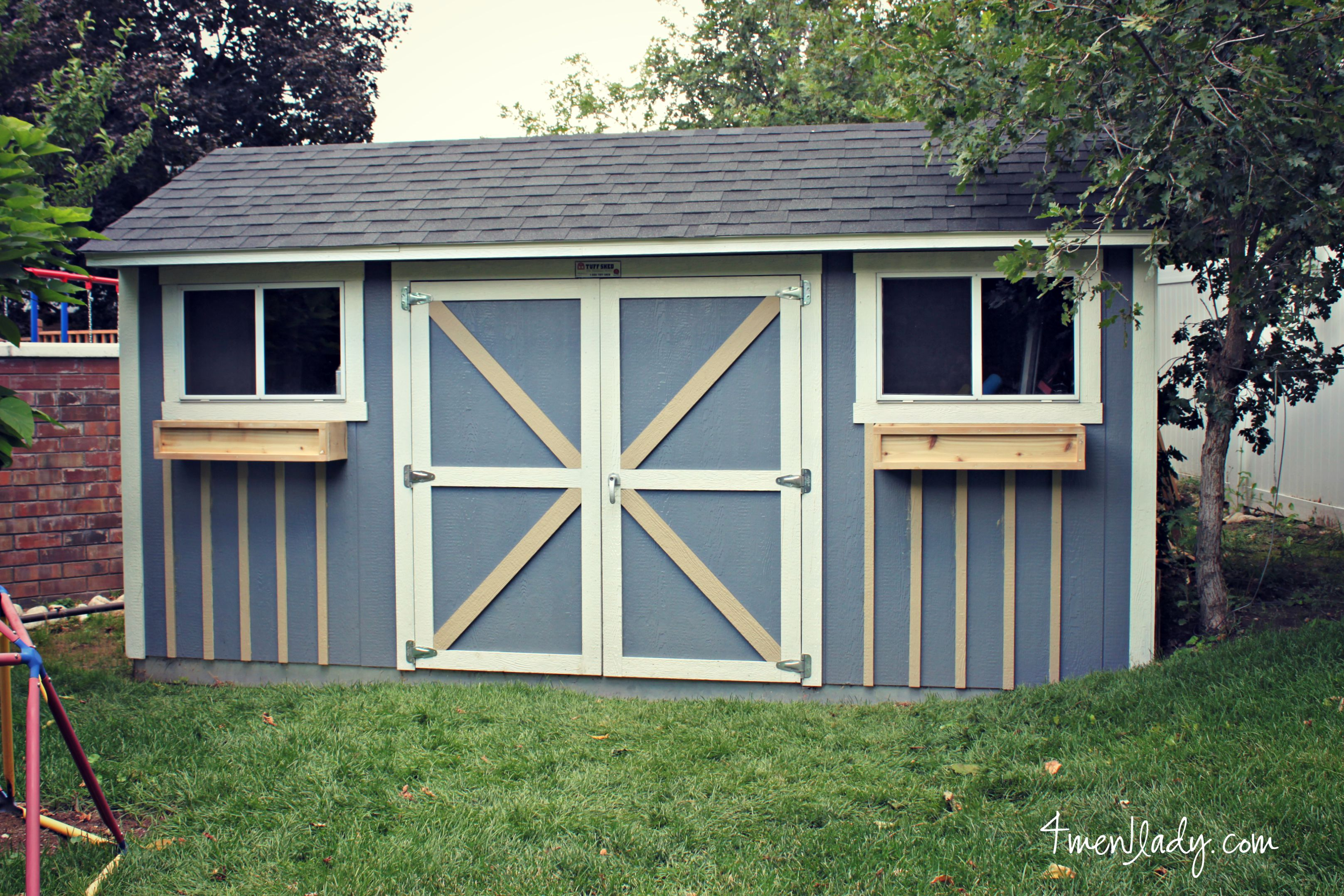 Tuff shed facelift 100 gift card giveaway for Tuff sheds
