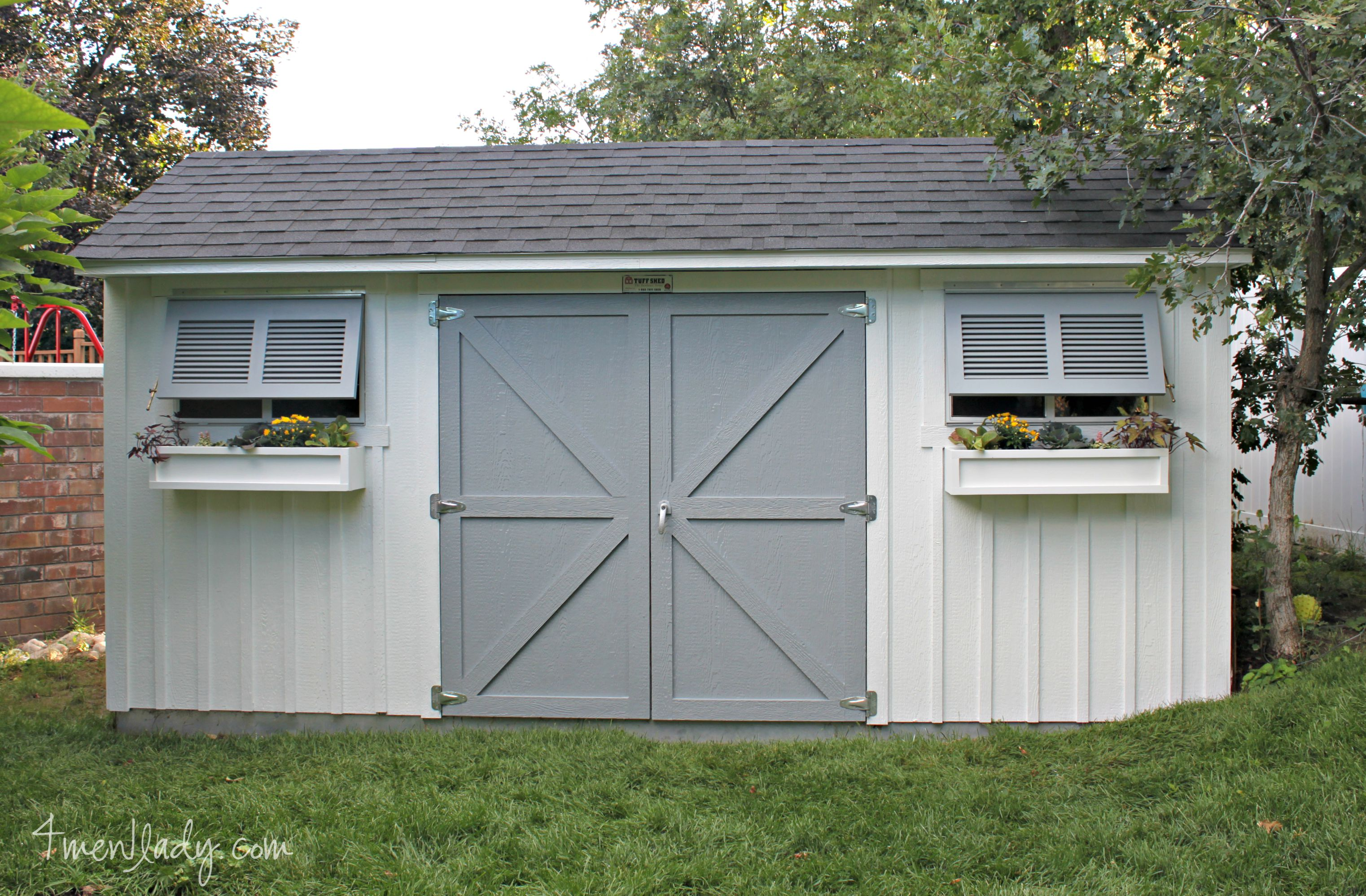 Tuff Shed Facelift + $100. gift card giveaway.