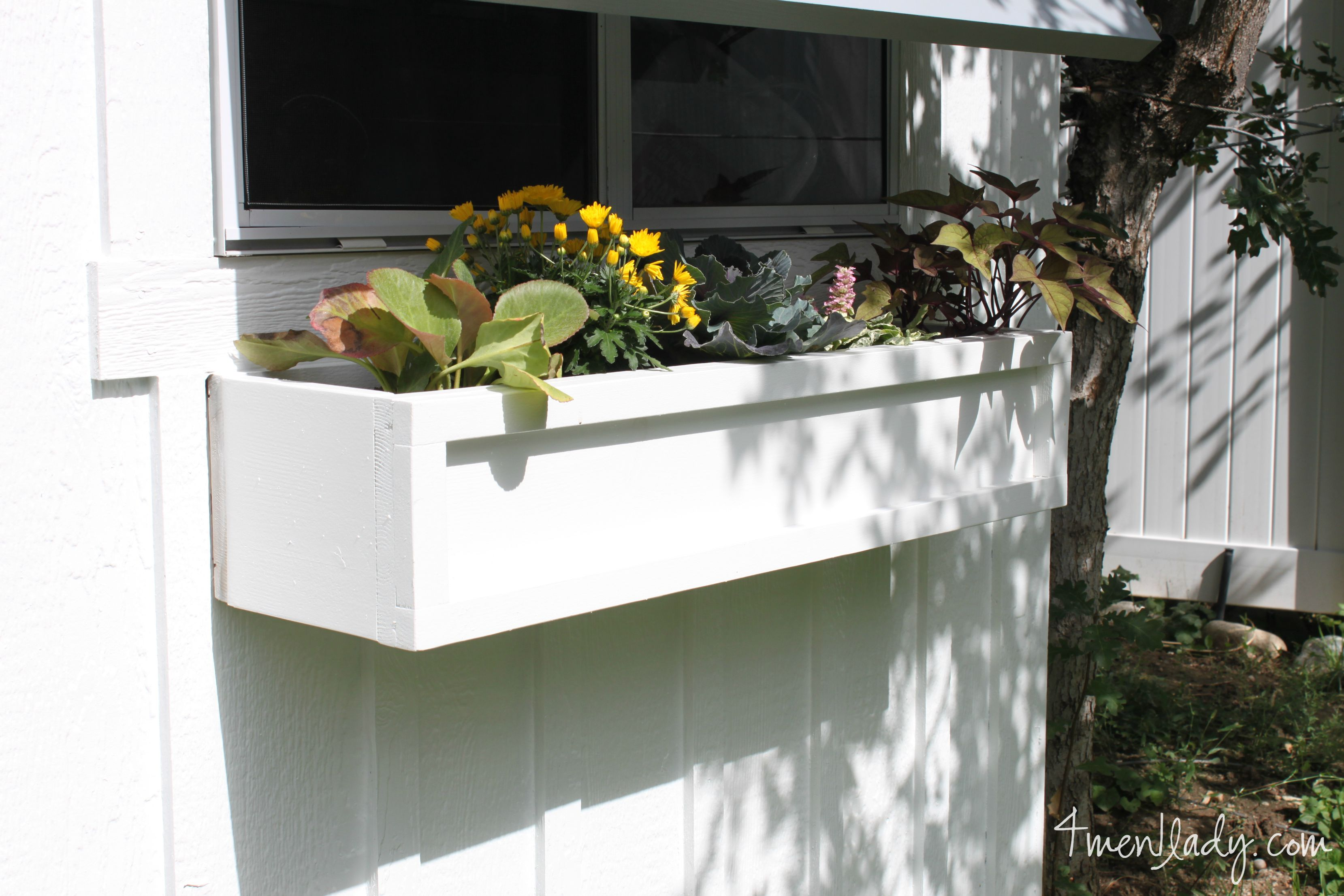 to garden window steps build how a img in box remodelaholic tutorial planter diy