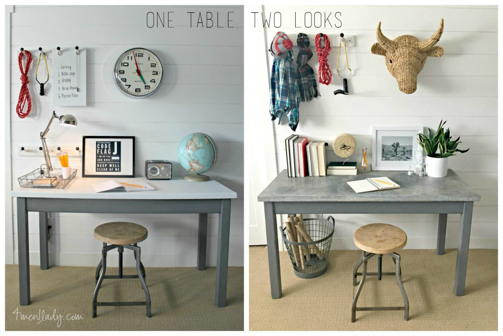 One table, two looks