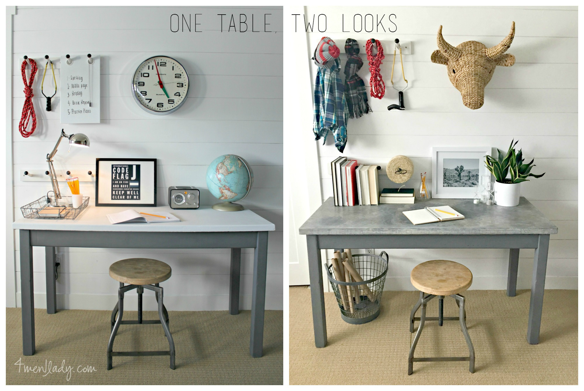 One Table Two Looks