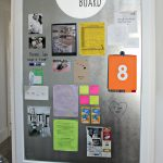 DIY Magnetic Board.