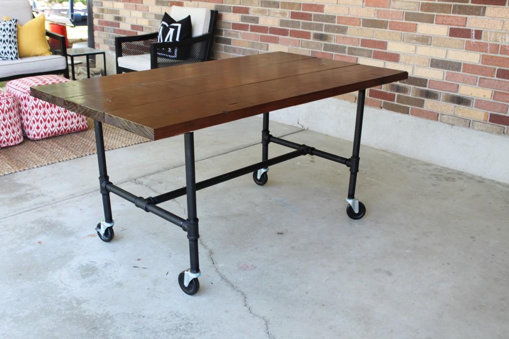 Relatively DIY Plumbing Pipe Table Tutorial. JB87