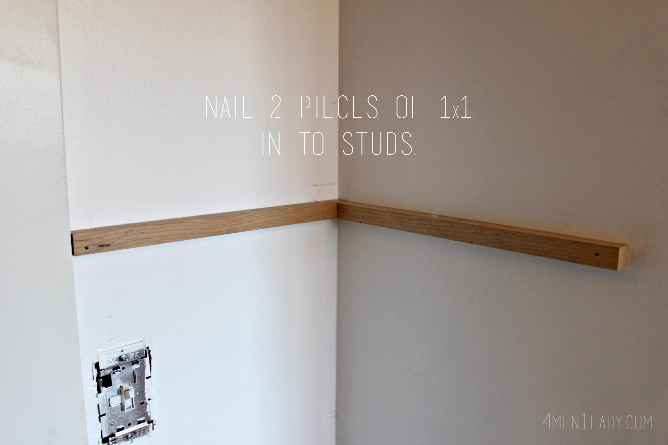 Floating Shelves No Nails | Credainatcon.com
