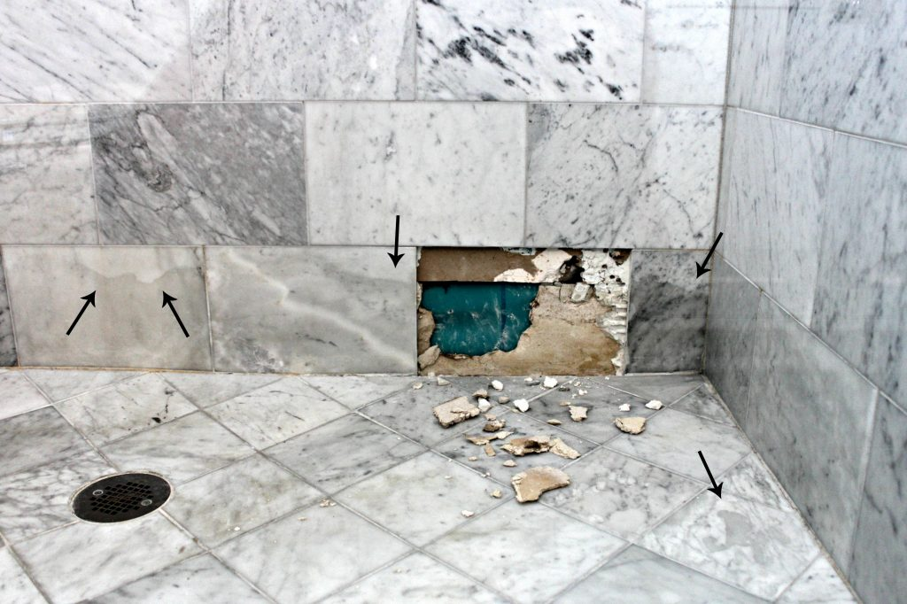 marble wall tiles bathroom why marble isn t the best option in a shower or bath 19411