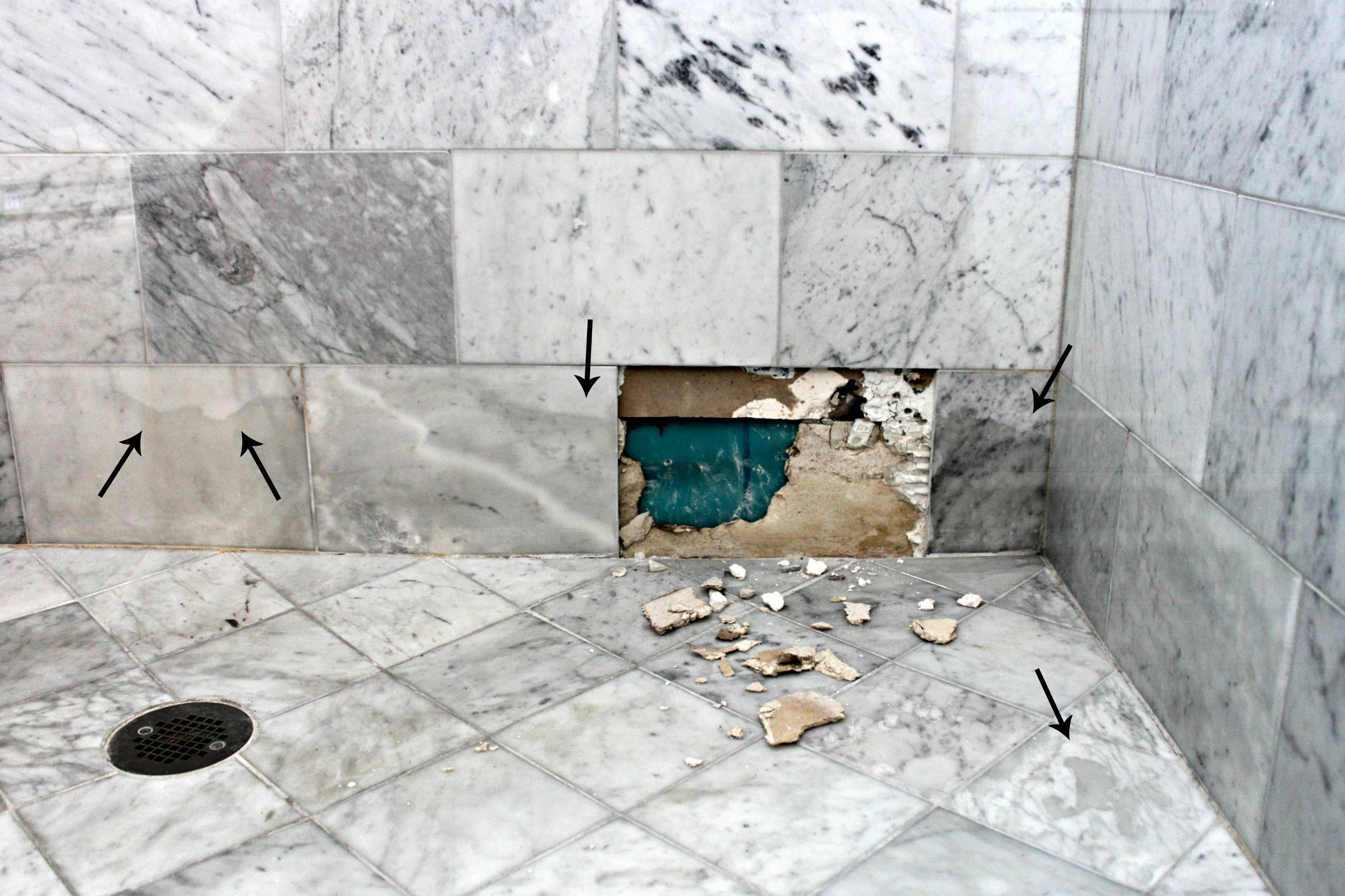bathroom marble tiles why marble isn t the best option in a shower or bath 10996